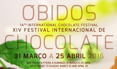 Festival Internacional de Chocolate de Óbidos 2016