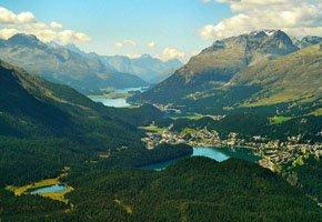 Os encantos dos Alpes Suíços