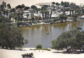 Huacachina o tesouro natural do Peru