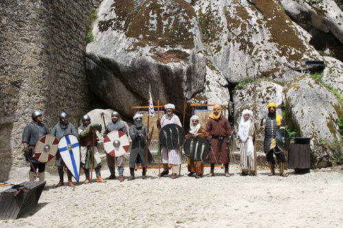 Arte da Guerra Medieval - Creditos Associacao Portuguesa de Recriacao Historica